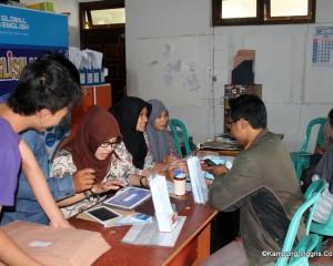 Tampak Office Dalam Global E