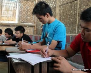 Suasana Belajar di Dalam Kelas