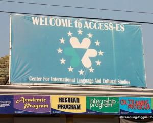 Tampak depan Office Access ES