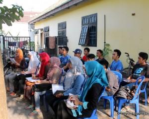 Suasana Belajar di Access ES