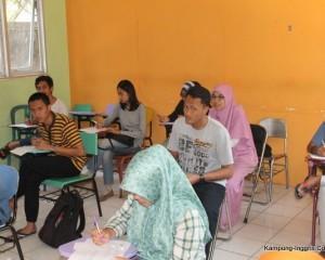 Suasana Belajar Kelas Mahesa